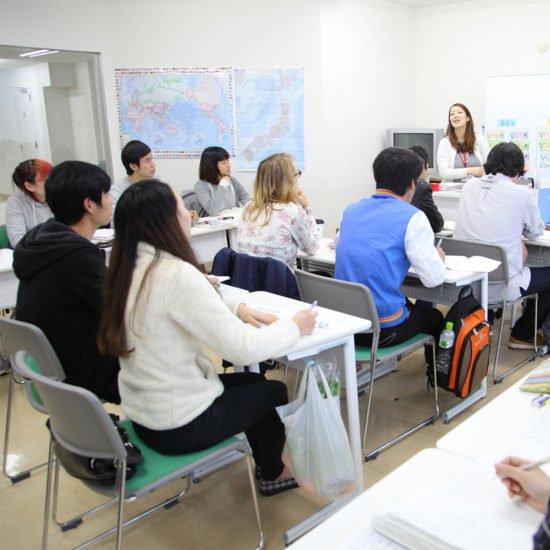 赤門会日本語言學校-上課情景