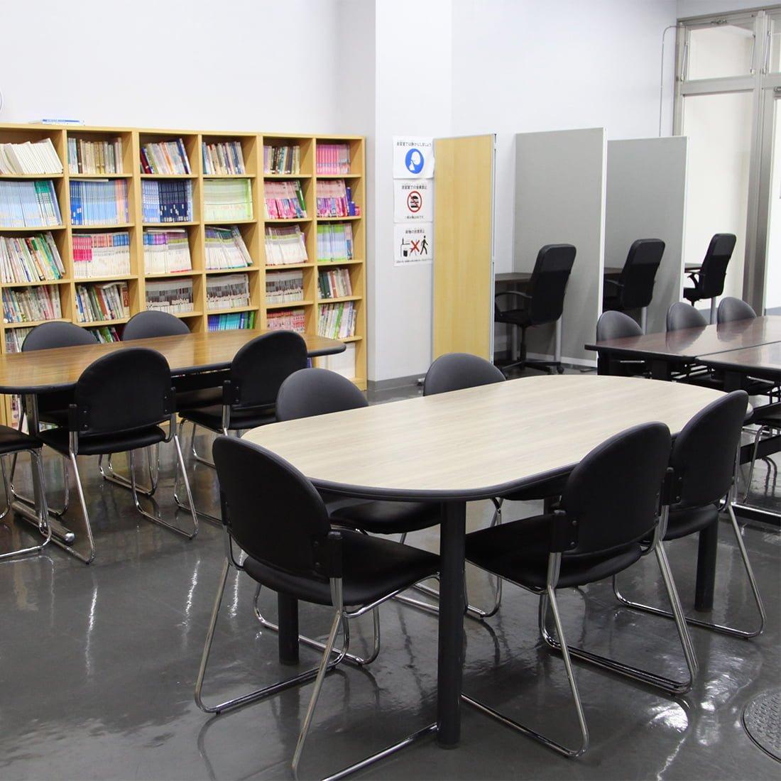 赤門会日本語言學校-圖書室