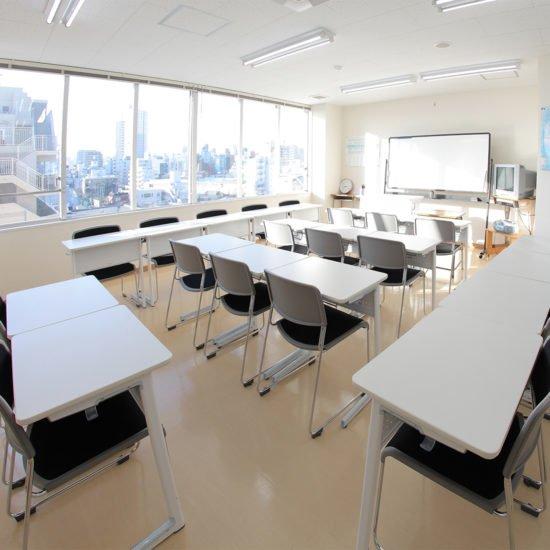 赤門会日本語言學校-本校教室