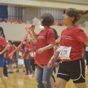 赤門会日本語言學校-跟日本人交流的運動会