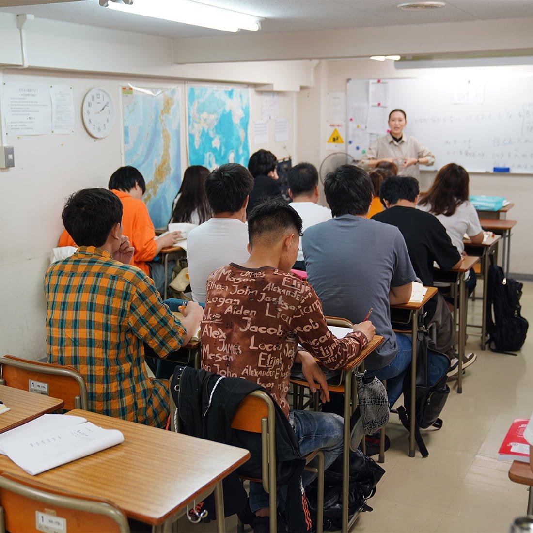 東京諾亞日語學校-授業風景