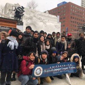 北海道日本語學院-學生活動