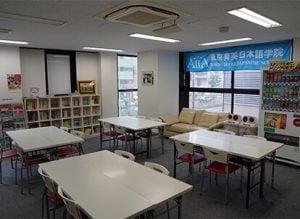 東京育英日本語學院-休息區