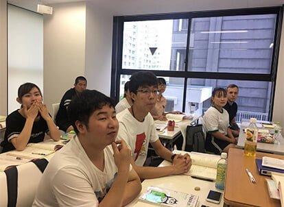 東京育英日本語學院-授業風景