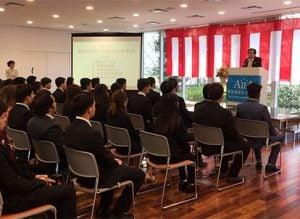 東京育英日本語學院-卒業式