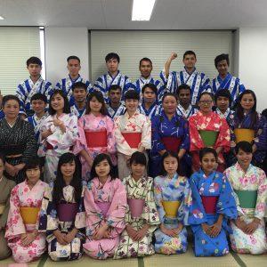 東京育英日本語學院-浴衣体験